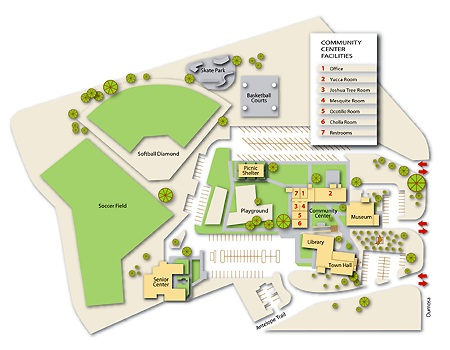 Community Center Site Map